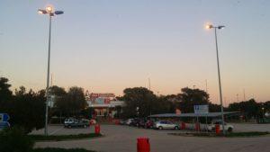 Autogril Parkplatz an der AP7