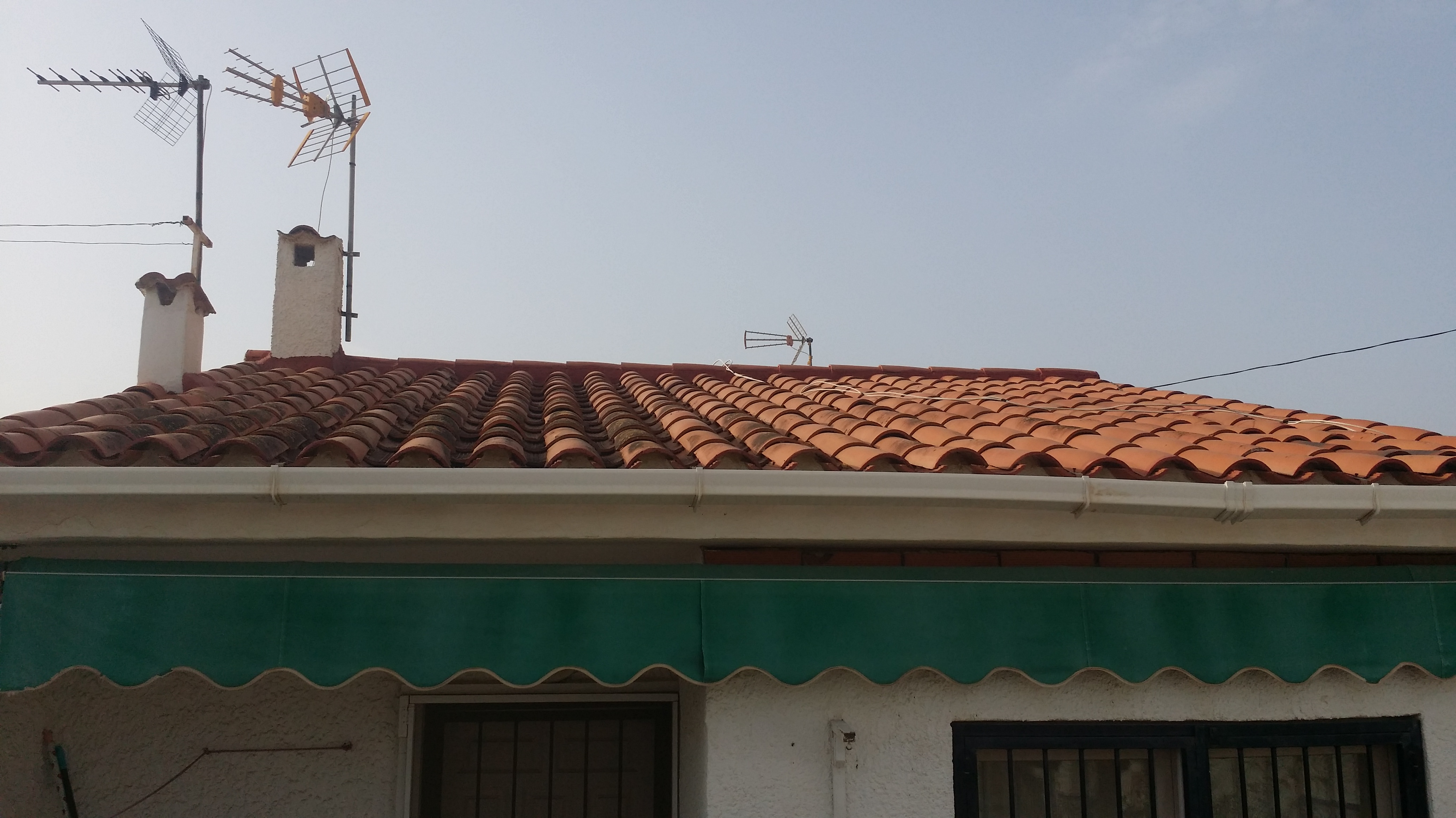Dach und Markise