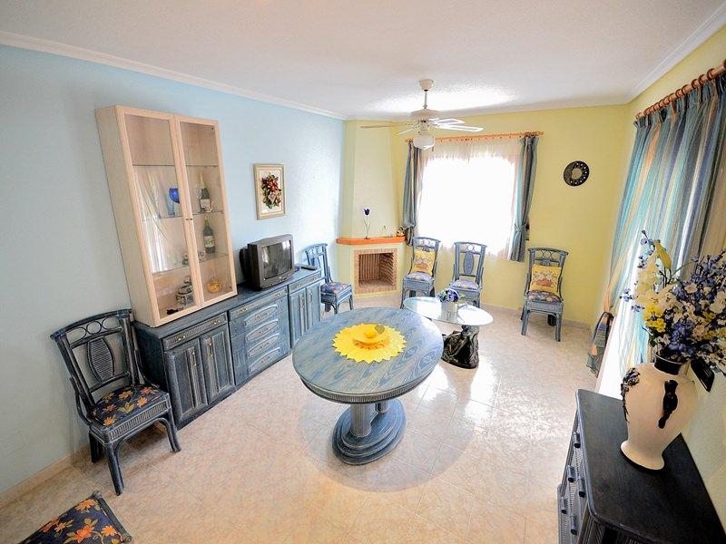 Wonzimmer mit Kamin