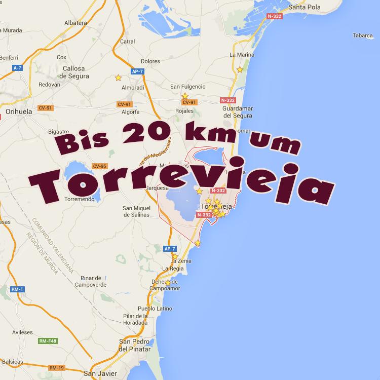 20km um Torrevieja