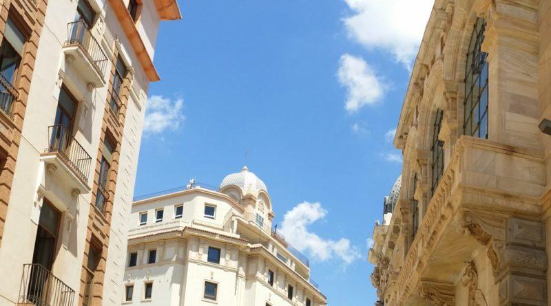 Spanische Architektur Cartagena