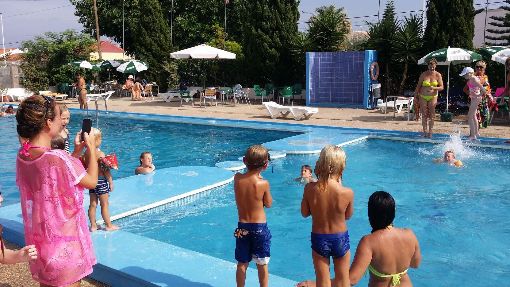 Kindergeburtstag am Pool