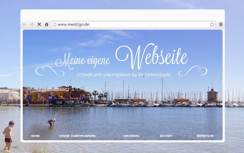 Webdesign für Ferienunterkünfte