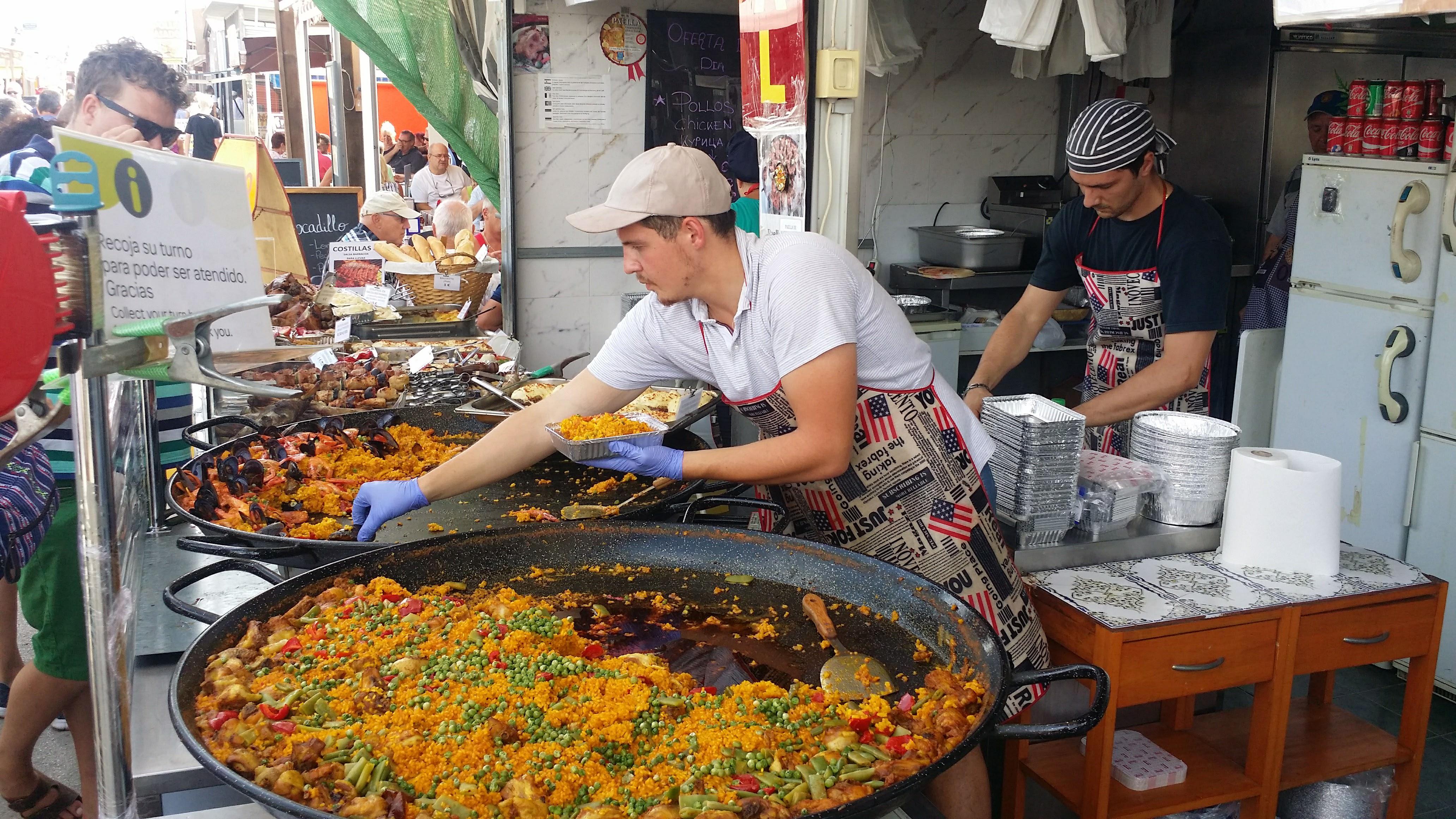 spanische Paella