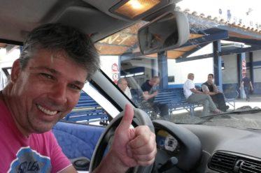 Mit dem Auto beim ITV Torrevieja