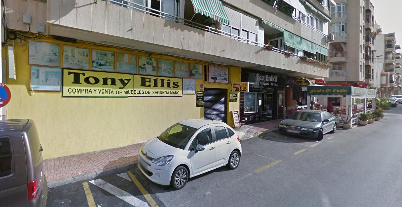 Tony Ellis in Torrevieja