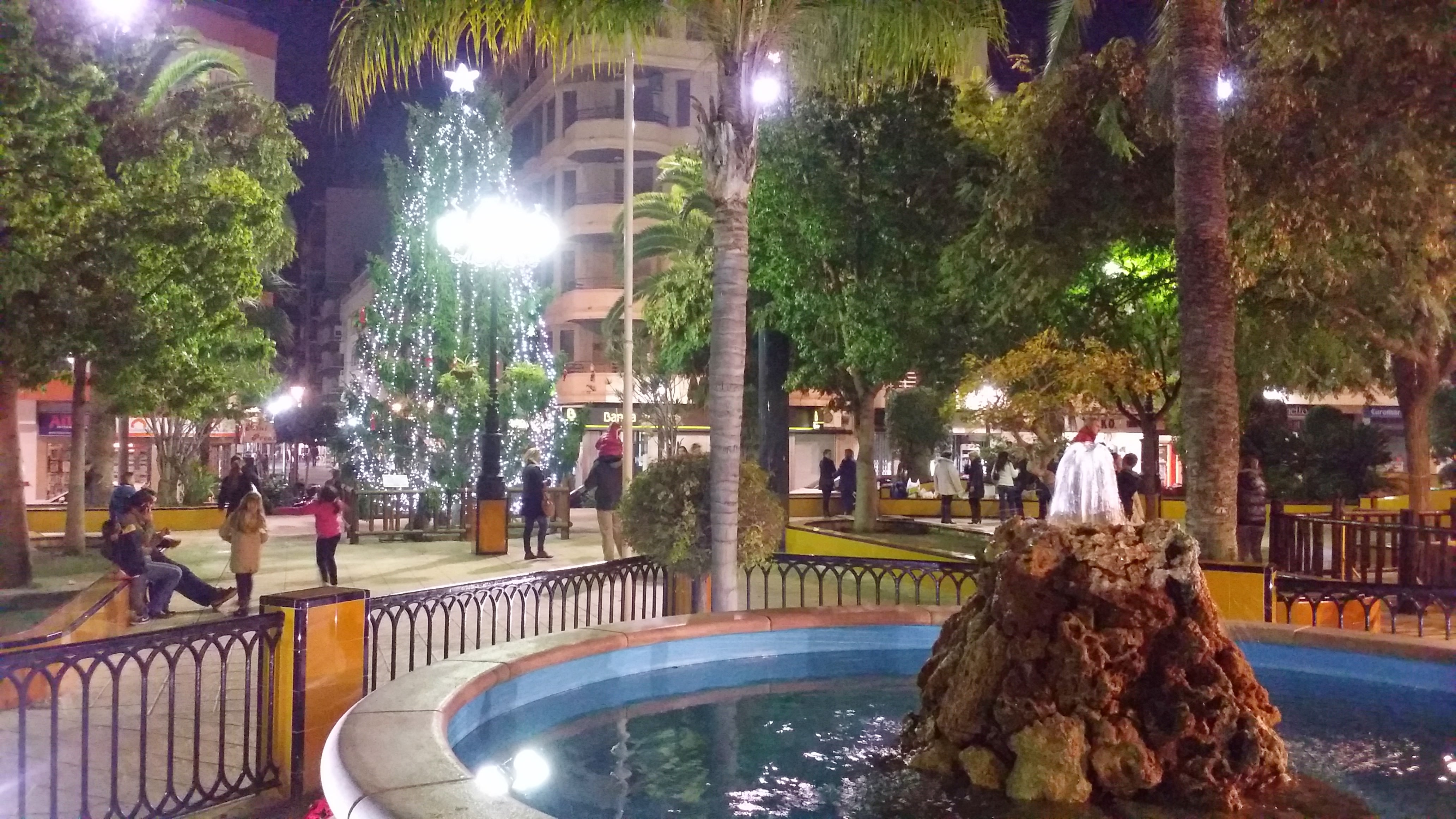 Plaza de la Constitución zu Weihnachten