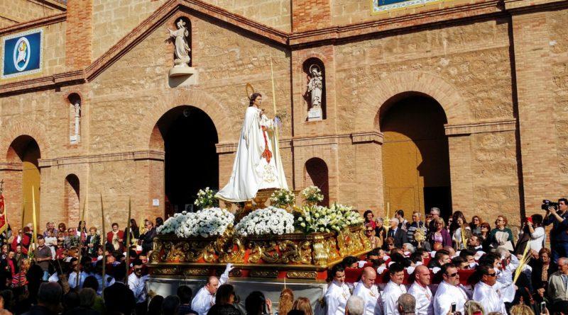 Palmprozession Torrevieja 20.März