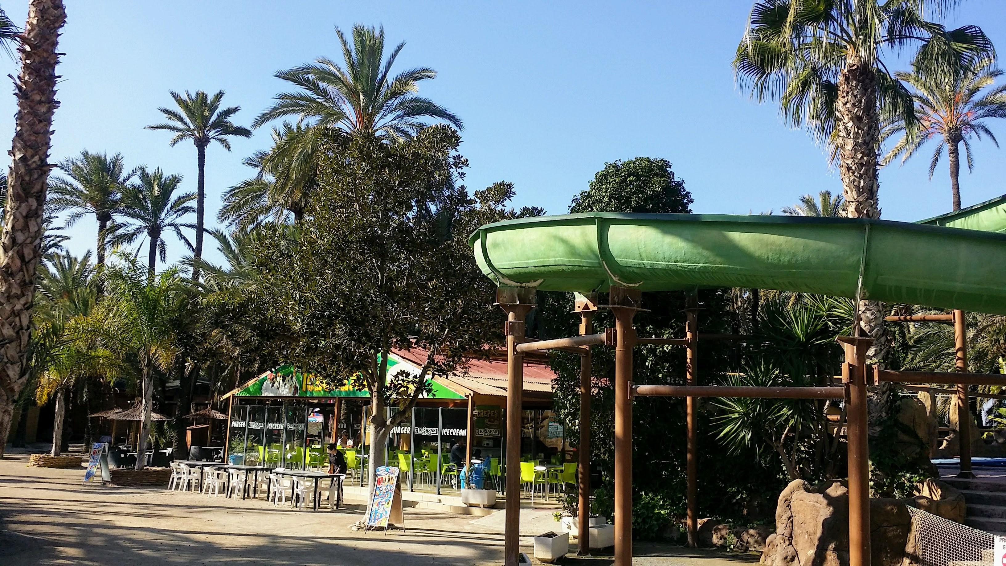 Eingangsbereich Rio Safari Zoo