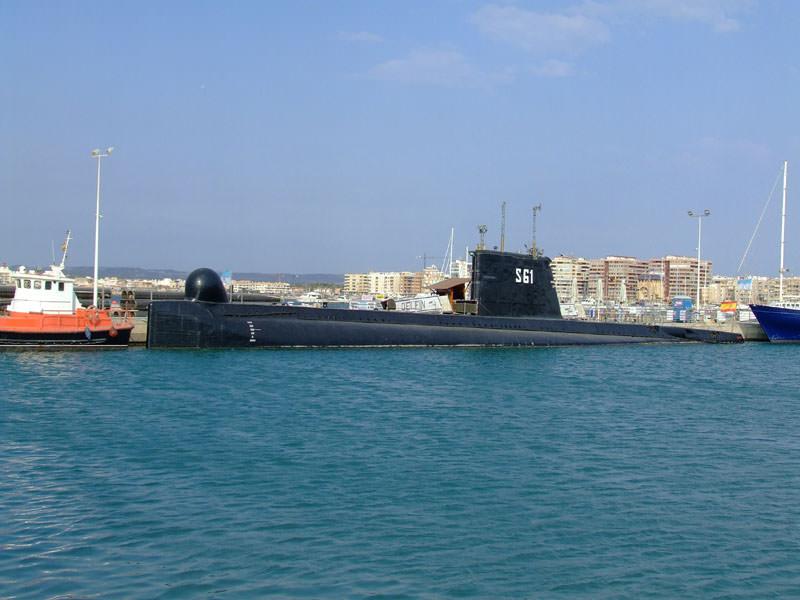Submarine (S 61) Delfin