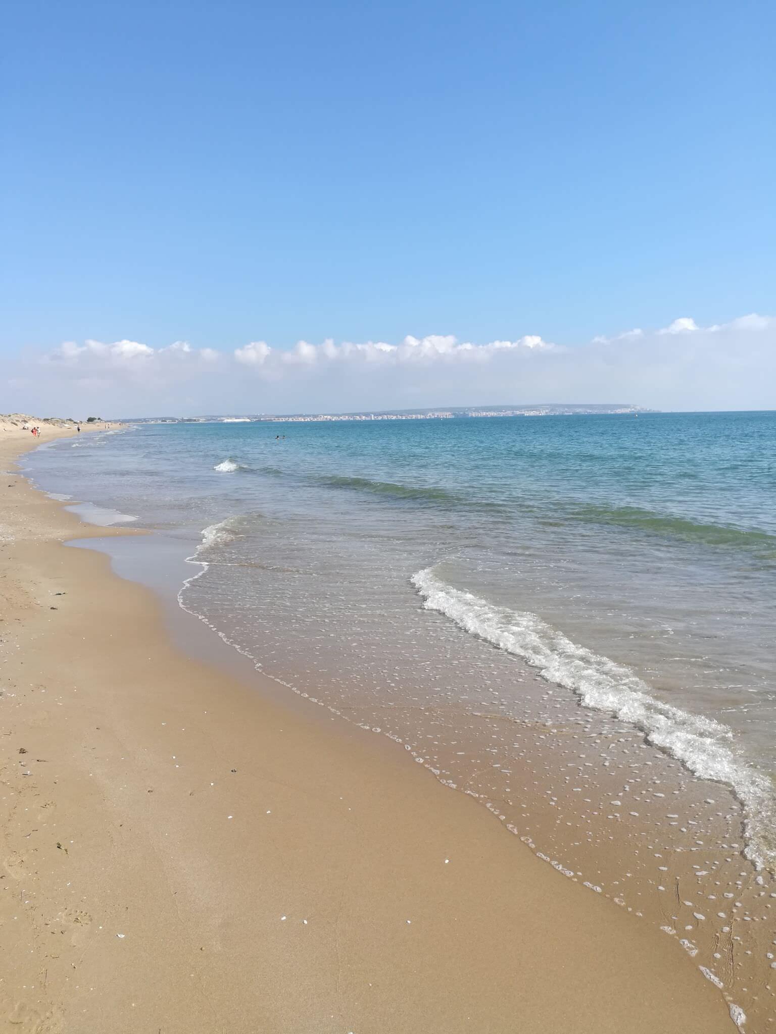 17km Sandstrand