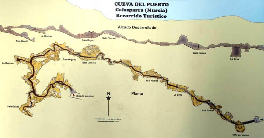Höhlenplan