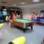 Spiel und Arcaderaum