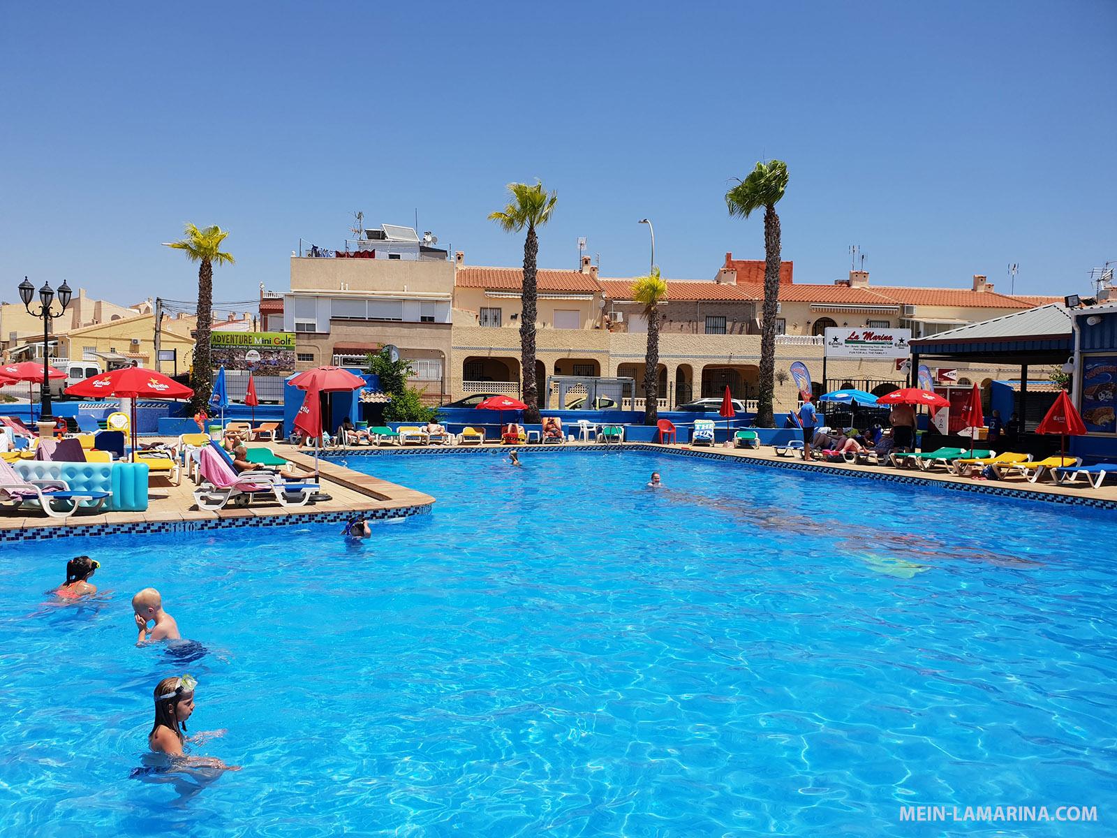 Pool des Sports Complex La Marina