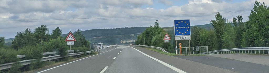 Grenze zu Luxemburg