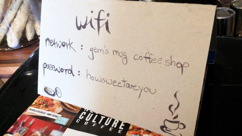 Wifi-Reichweite wie im Restaurant