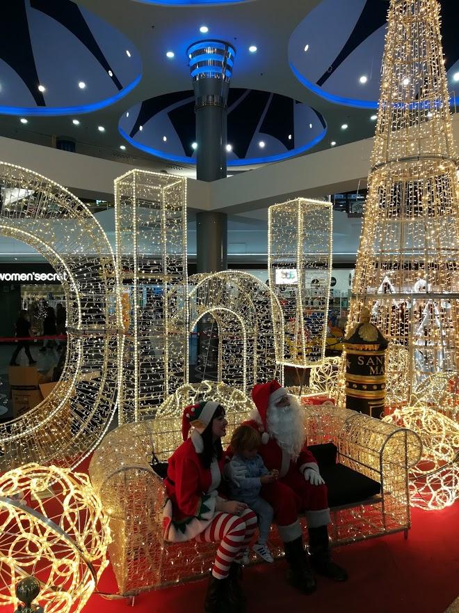 Weihnachten im Centre Comercial L'Aljub, Elche